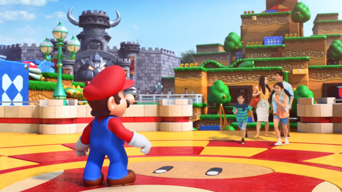 Super Nintendo World will open in spring with Super Mario Kart and Yoshi rides
