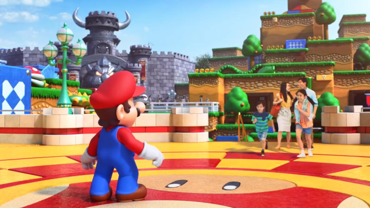 Super Nintendo World Will Open In Spring With Super Mario Kart And Yoshi Rides Gamesradar