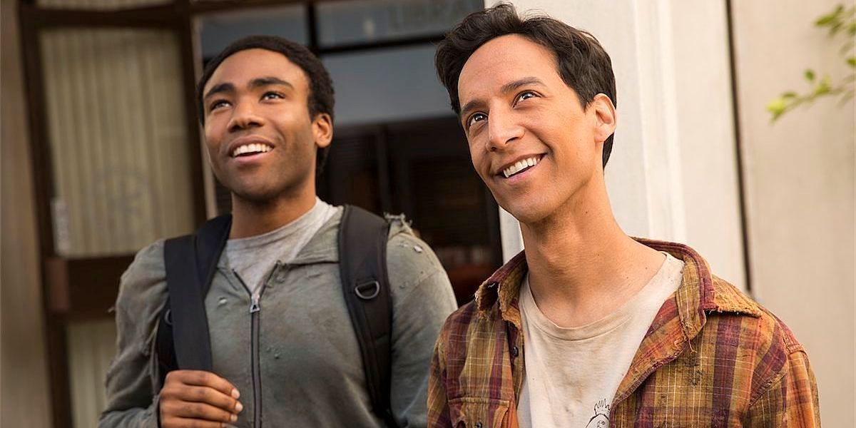 Troy and Abed being awesome best friends in Community.