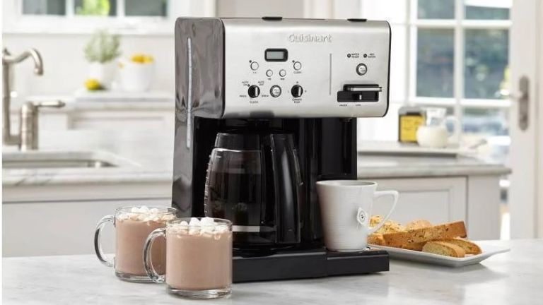 Cuisinart Coffee Plus 12-Cup Programmable Coffeemaker Plus Hot Water System