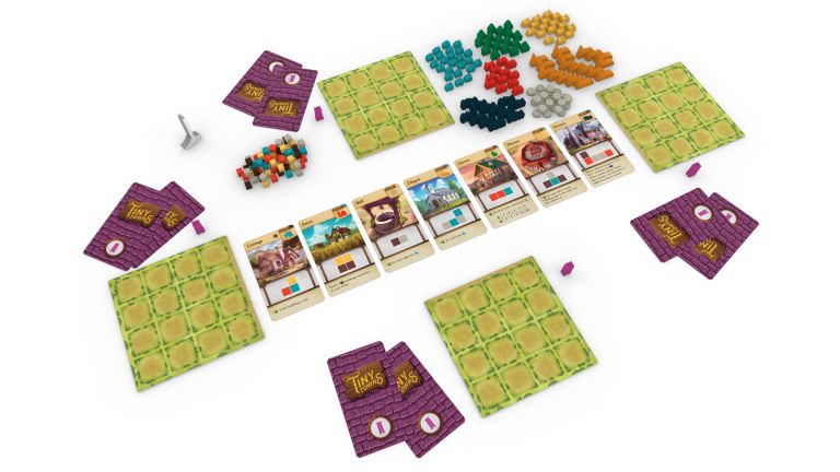 New board games Tiny Town