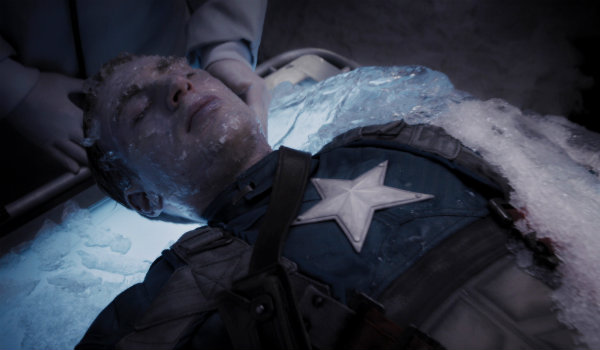 Captain America The First Avenger Frozen Scene