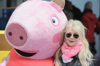 Morwenna Banks, aka Mummy Pig in Peppa Pig