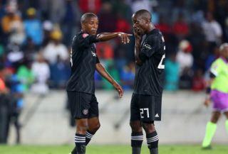 Luvuyo Memela and Ben Motshwari