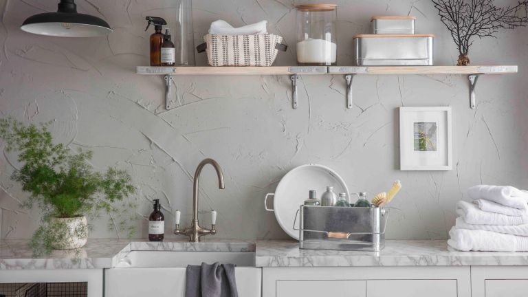 utility room ideas - a traditional utility room set up - GardenTrading_7084025_GardenTradingSS21LaundryUtil