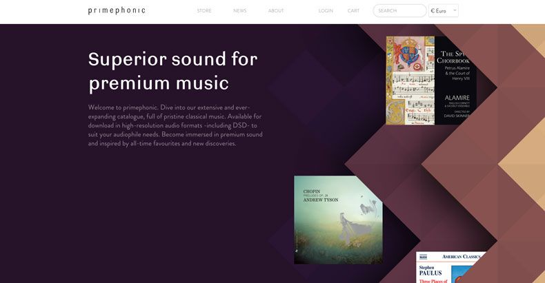 Primephonic high-res classical music download store launches