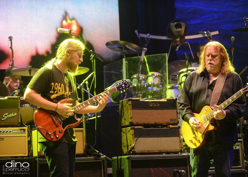 Warren Haynes Christmas Jam Pre-Jam ~ Concert Photos ...  Warren Haynes Allman Brothers
