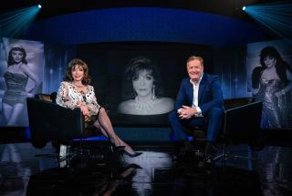 TV tonight Piers Morgan's Life Stories Piers with Joan Collins