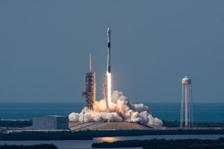 SpaceX's First Block 5 Falcon 9 Lifts Off