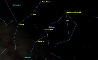 Saturn Opposition May 2015