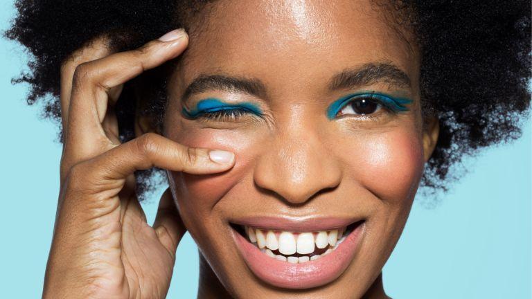Colourful eyeliner