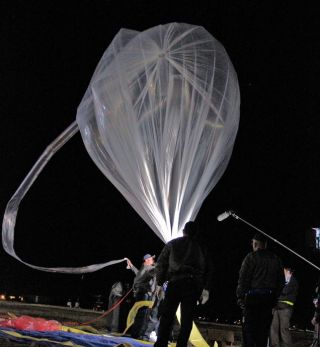 Red Bull Stratos Weather Balloon