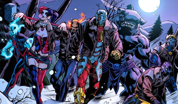 harley quinn and suicide squad comic art