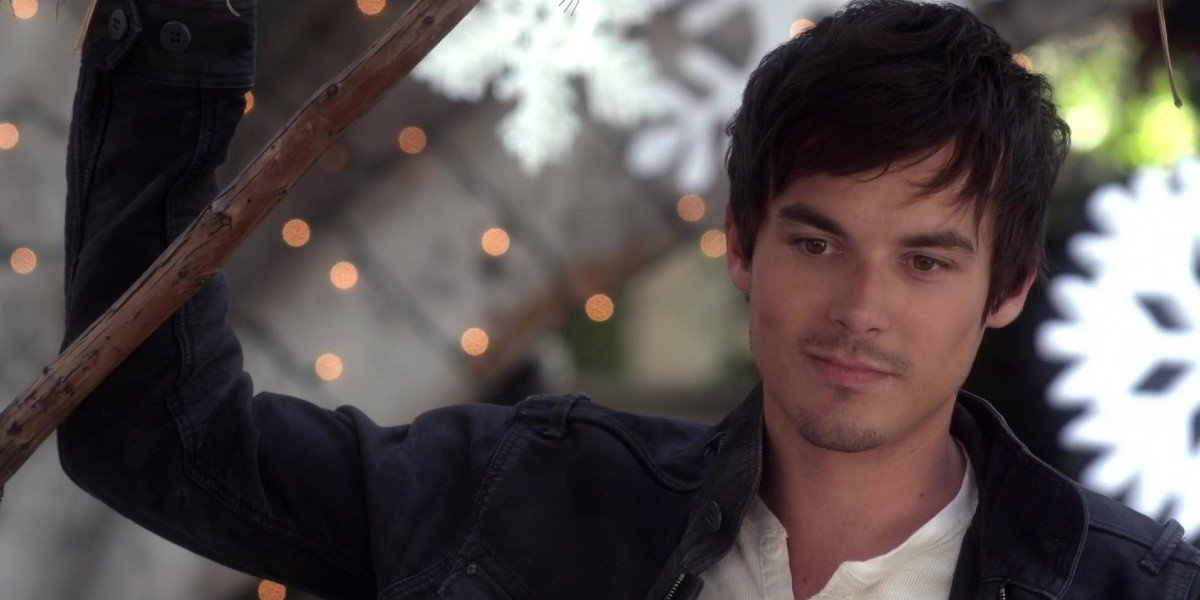 Tyler Blackburn as Caleb in Pretty Little Liars