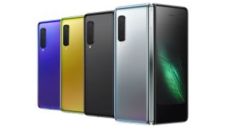 Samsung Galaxy Fold's bendy smartphones caving in