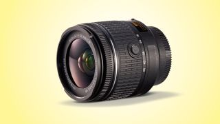 A 18-55mm lens used on a camera with an APS-C sensor has an effective focal range of 27-82mm, although the exact length depends on the camera used. Image Credit: Nikon/TechRadar.