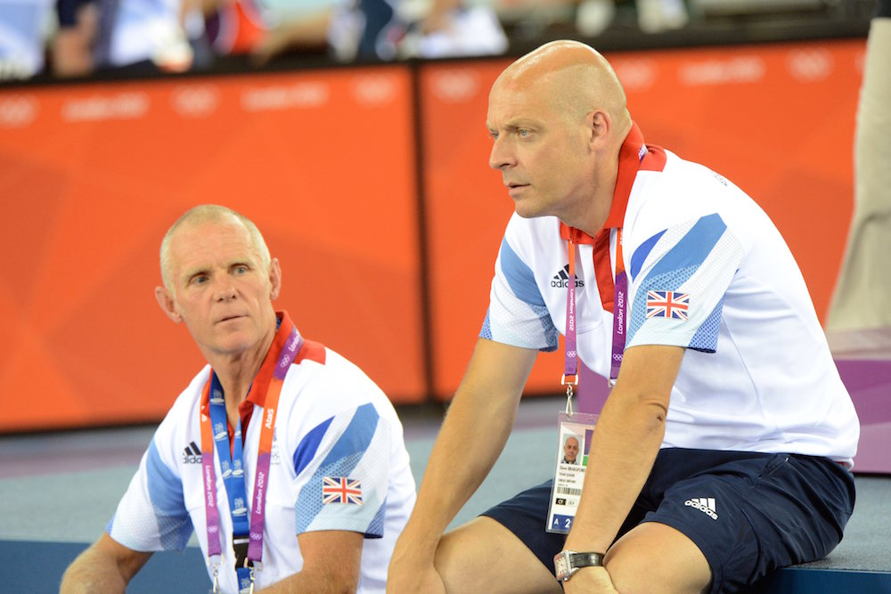 Thumbnail Credit (cyclingweekly.co.uk): Dave Brailsford and Shane Sutton at the 2012 Olympic Games (Watson)