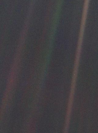 pale blue dot voyager 1 image