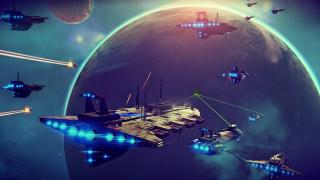 No Man's Sky Space Battle