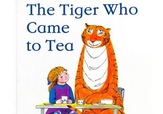 The Tiger Who Came to Tea children's book by Judith Kerr