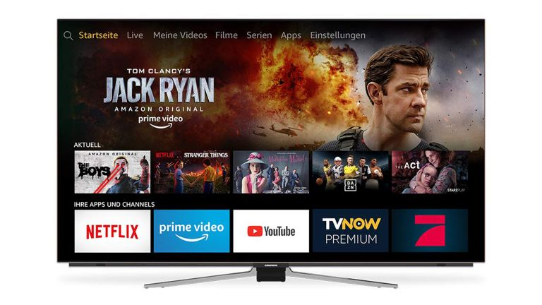 Amazon Fire TV is now an ACTUAL Amazon Fire OLED TV with