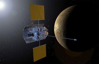 MESSENGER Mission in Mercury Orbit