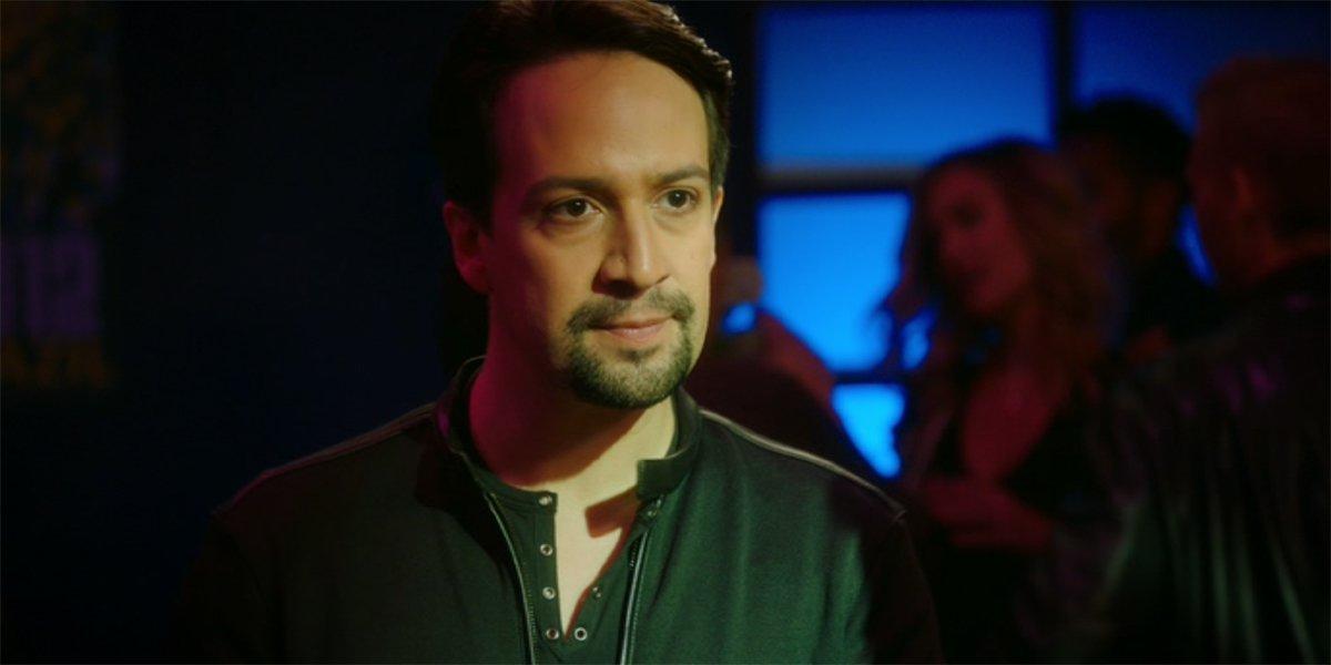Lin-Manuel Miranda as Amy's Brother in Brooklyn Nine-Nine