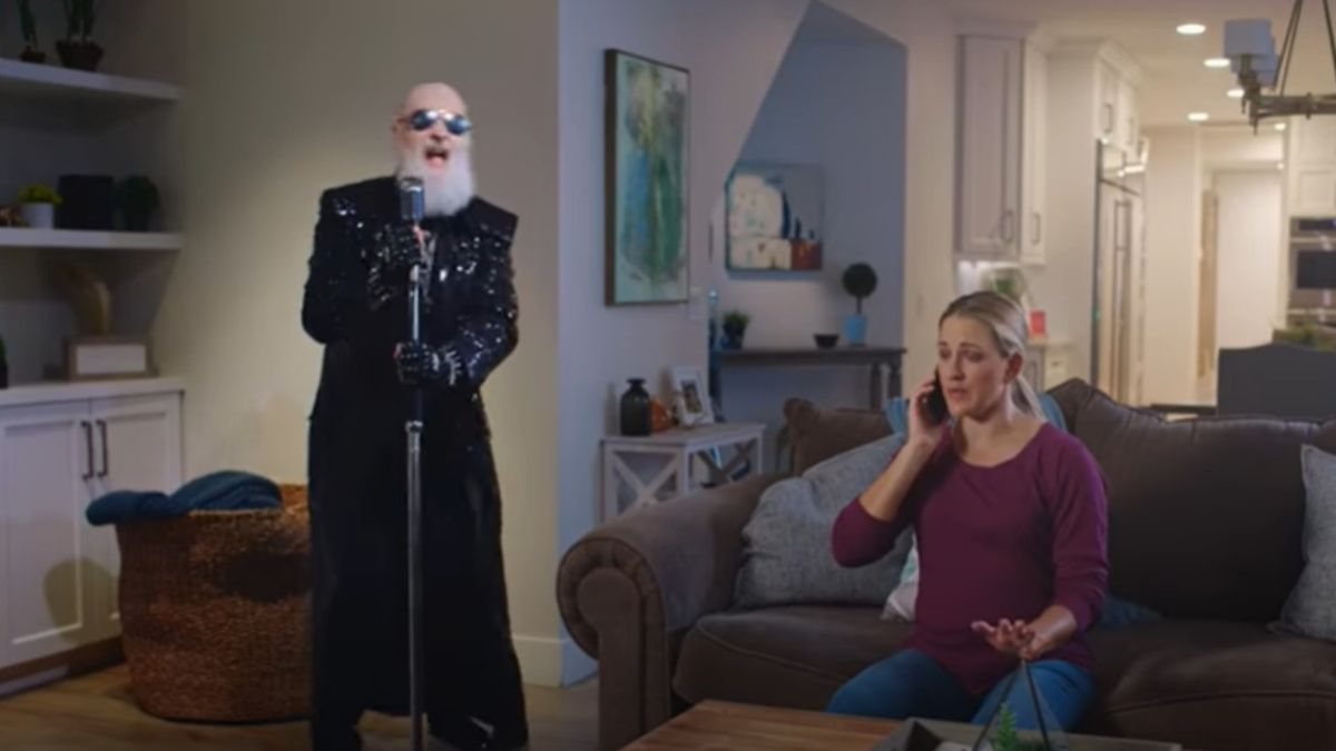 Watch Rob Halford star in a set of bizarre insurance commercials