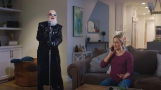 Rob Halford in Plymouth Rock Assurance ad
