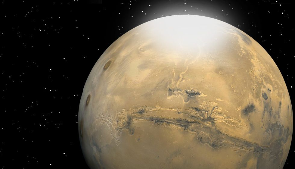What Is The Temperature On Mars Space
