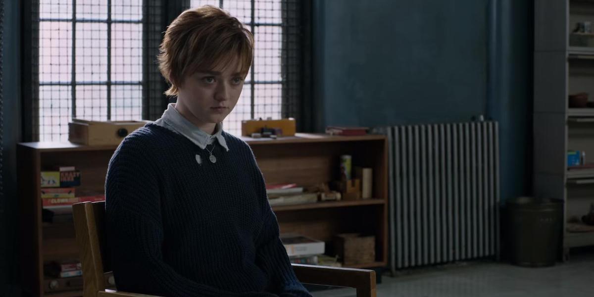Maisie Williams as Wolfsbane aka Rahne Sinclair in The New Mutants