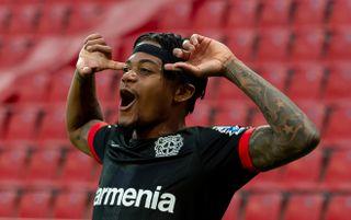 Bayer Leverkusen winger Leon Bailey