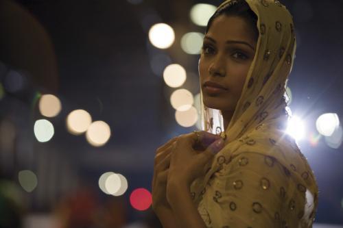 Slumdog Millionaire - Freida Pinto as Jamal's childhood sweetheart Latika