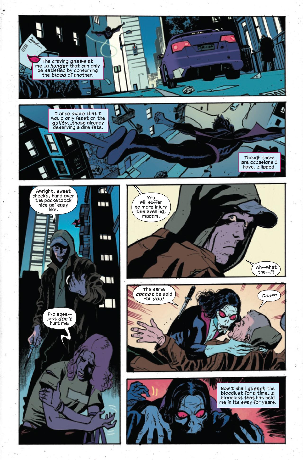 Morbius: Vínculo de sangre # 1