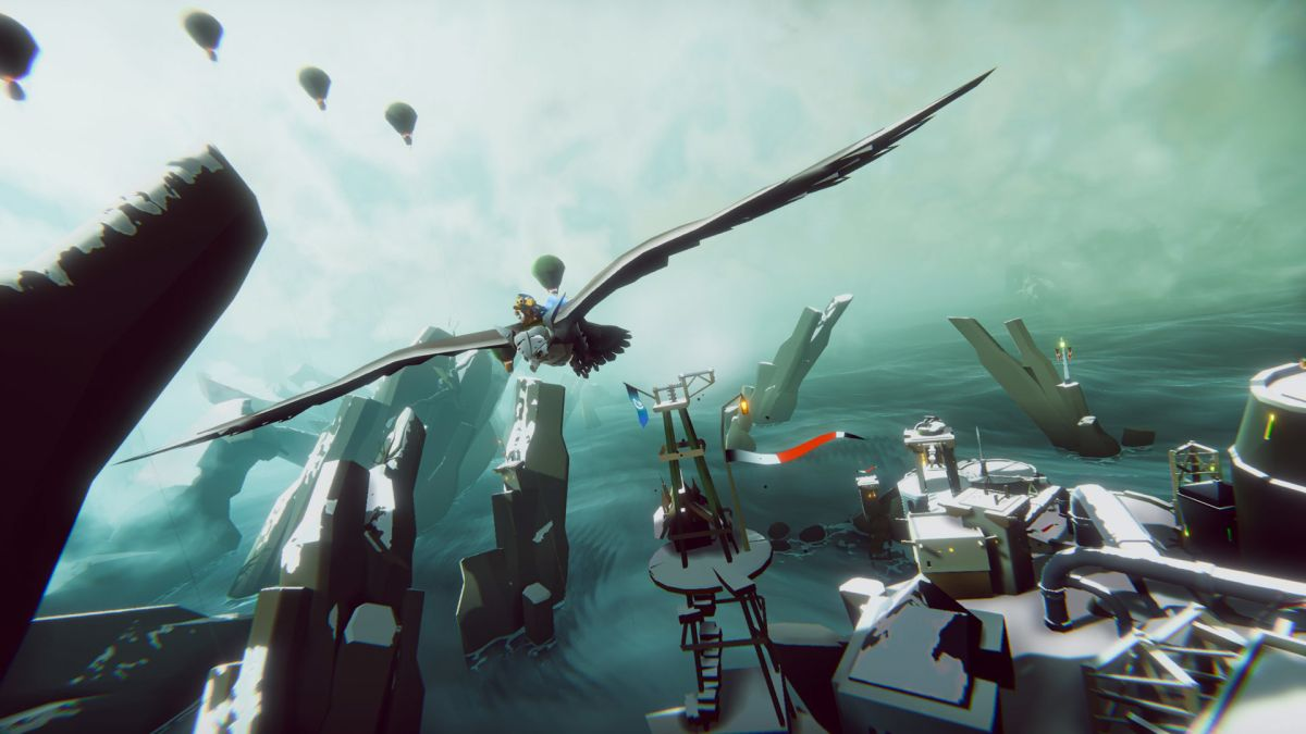 High seas steampunk meets avian action in The Falconeer, a gorgeous aerial shooter about