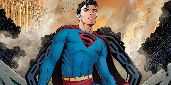 Superman: Year One Clark Kent in the Superman costume