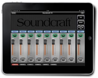 HARMAN's Soundcraft ViSi iPad Remote Control