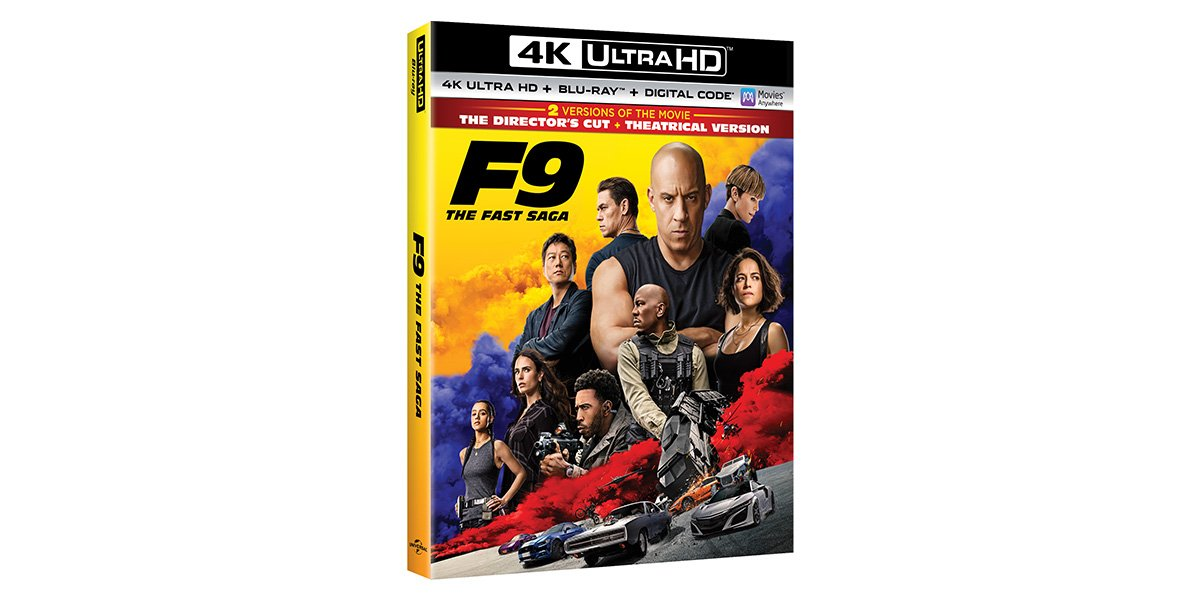 4K UHD director's cut of F9