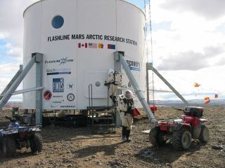 The Mars Society's Flashline Mars Arctic Research Station