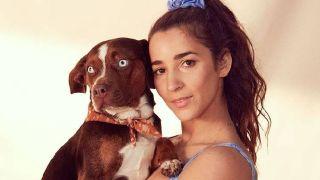aly raisman's dog missing