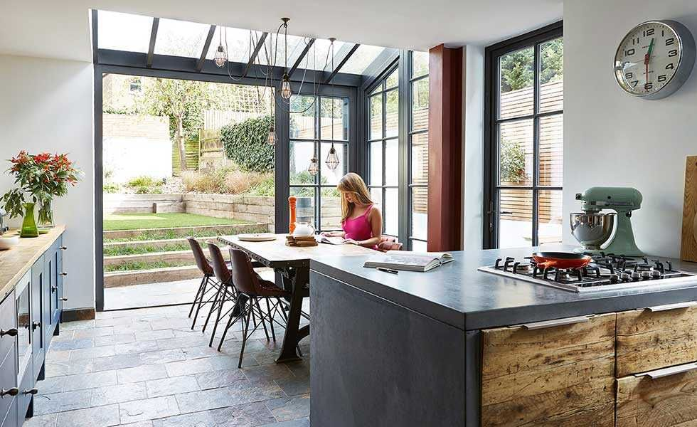 Real Home: A Glazed Extension To An Edwardian Terraced House Adds Tons More Space