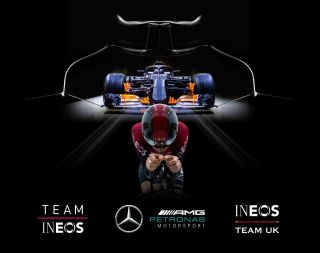 Team Ineos have announced a partnership with Mercedes-AMG Petronas F1 team