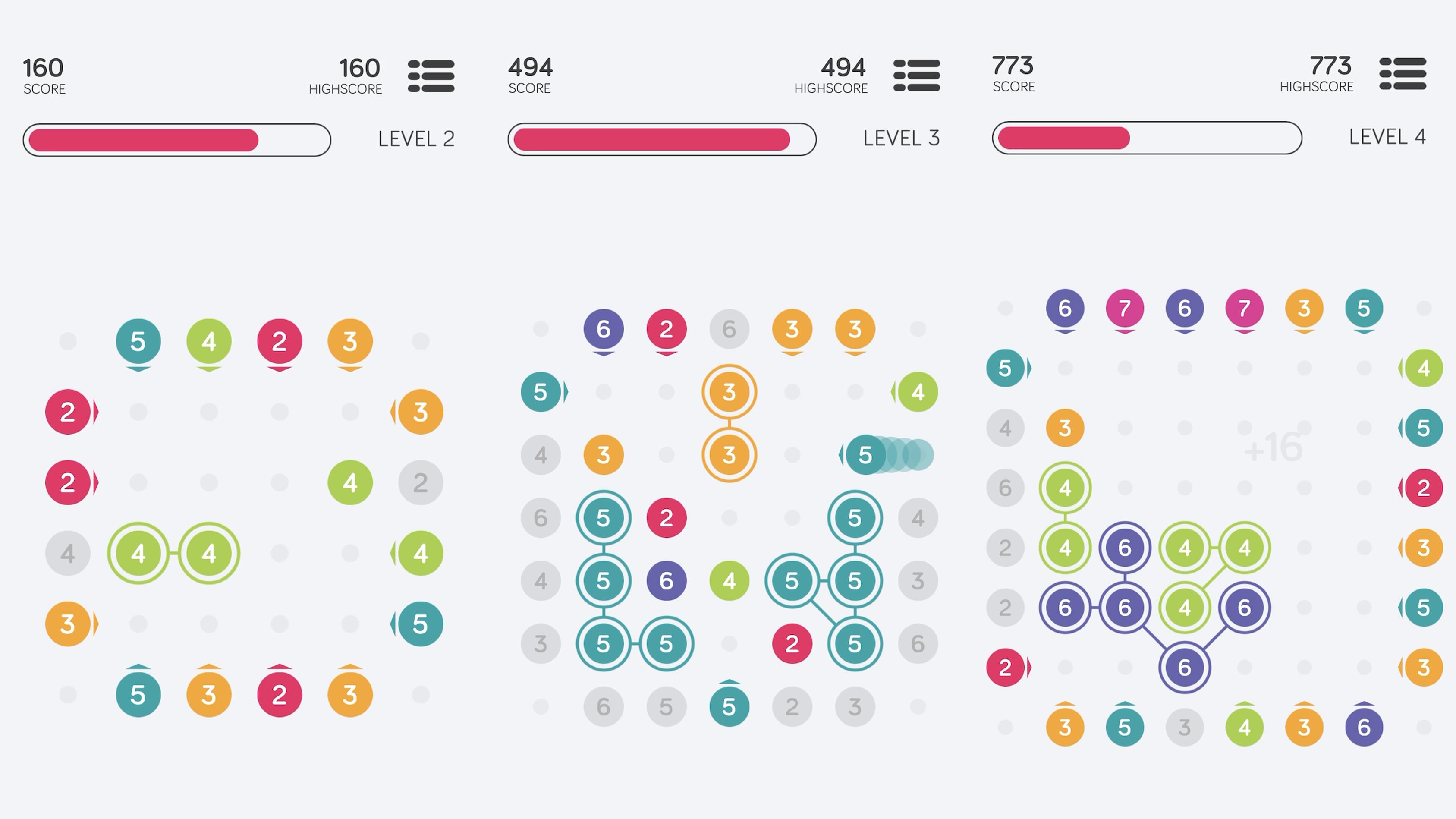 Screenshots showing 10™