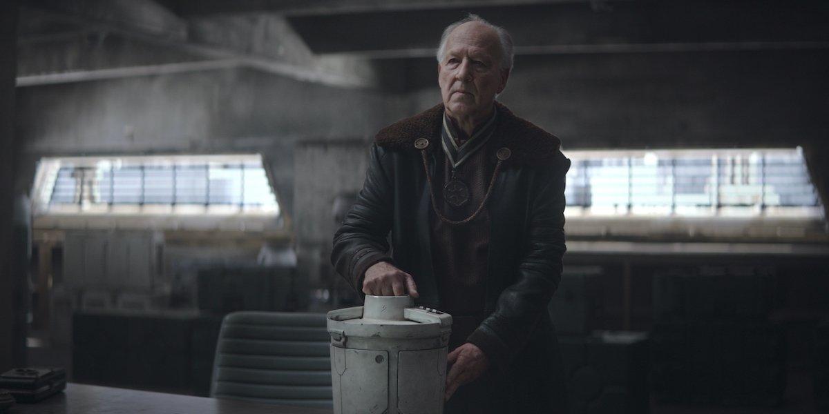 Werner Herzog in The Mandalorian