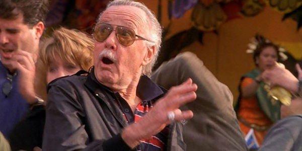 Stan Lee making a cameo in Sam Raimi's Spider-Man