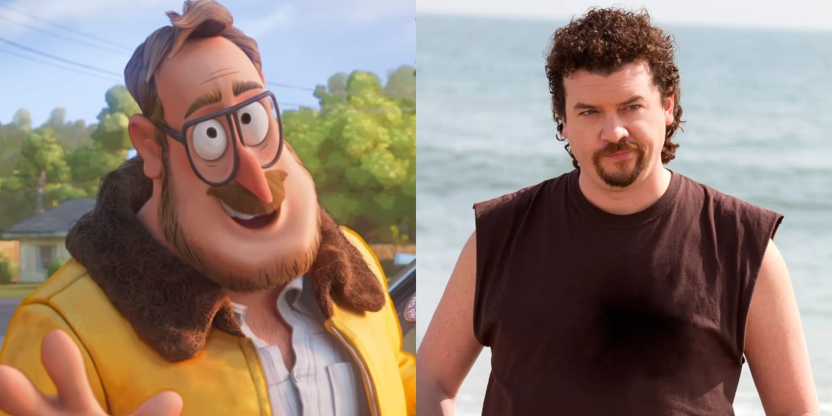 Rick in The Mitchells vs. the Machines; Dann McBride on Eastbound and Down