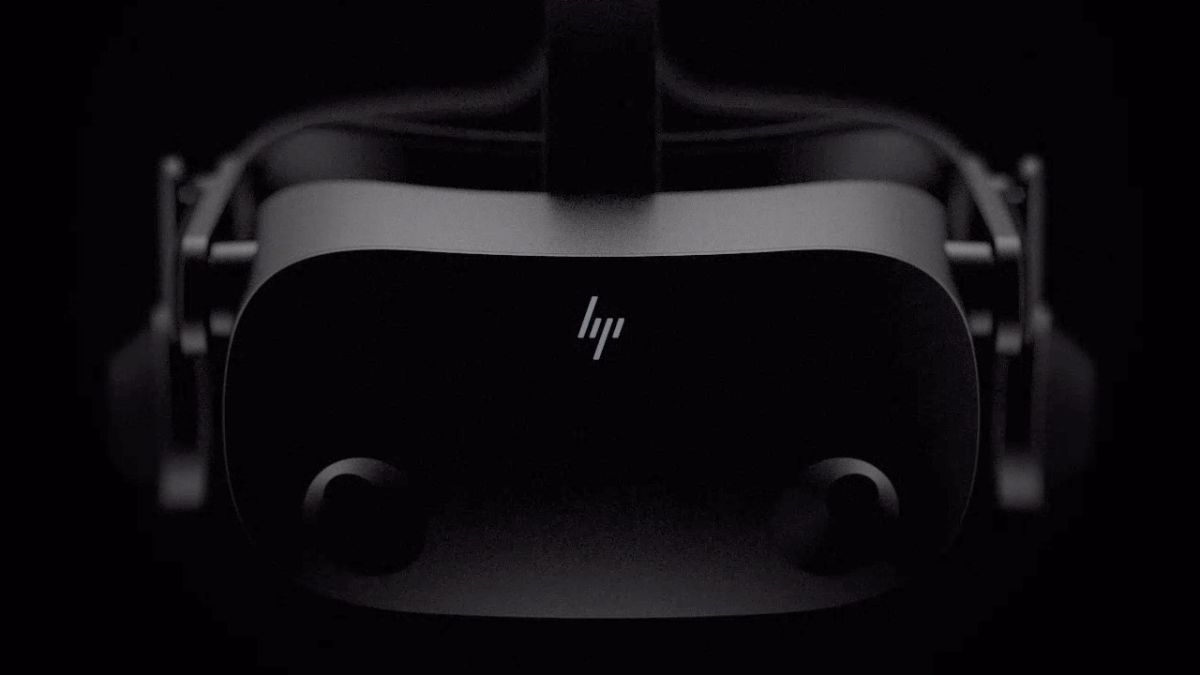 HP is teasing a new VR headset built