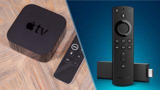 Amazon Fire TV Stick vs Apple TV