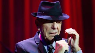 A picture of Leonard Cohen