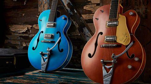 Gretsch G6120T-BSSMK Brian Setzer Nashville '59 'Smoke' and G6120T-HR Hot Rod review